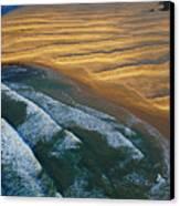 Sun Rise Coast  Canvas Print by Skip Hunt