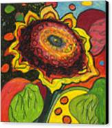 Sunflower Surprise Canvas Print by Jennifer Lommers