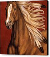 Sunhorse Canvas Print by Pat Erickson