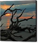 Sunrise At Driftwood Beach 2.2 Canvas Print by Bruce Gourley