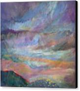 Sunset In Efrat Canvas Print by Bryna La