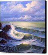 Surf Melody Canvas Print by Francine Henderson