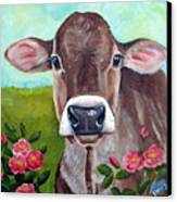 Sweet Matilda Canvas Print by Laura Carey