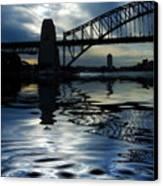 Sydney Harbour Bridge Reflection Canvas Print by Avalon Fine Art Photography
