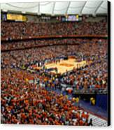 Syracuse Orange Carrier Dome Canvas Print by Replay Photos