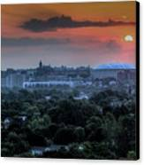 Syracuse Sunrise Canvas Print by Everet Regal