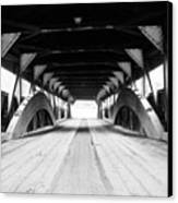 Taftsville Covered Bridge Canvas Print by Greg Fortier