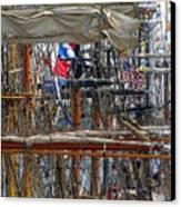 Tall Ship Series 4 Canvas Print by Scott Hovind