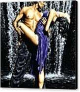 Tango Cascade Canvas Print by Richard Young