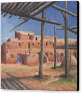 Taos Pueblo Canvas Print by Jerry McElroy