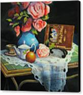 Tea Time Canvas Print by Robert Carver