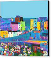 Tenby Harbour  I Canvas Print by Gareth Davies