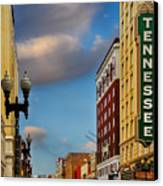 Tennessee Theatre Canvas Print by Steven  Michael