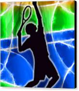 Tennis Canvas Print by Stephen Younts