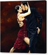 That Tango Moment Canvas Print by Richard Young
