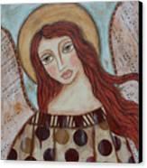 The Angel Of Hope Canvas Print by Rain Ririn