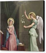 The Annunciation Canvas Print by Auguste Pichon