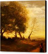 The Artists Way Home Canvas Print by Debi Frueh