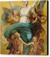 The Assumption Of The Virgin Canvas Print by Pierre Paul Prudhon