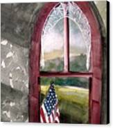The Attic Window Canvas Print by John  Williams