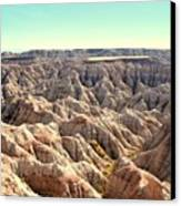 The Badlands Canvas Print by Brent Parks