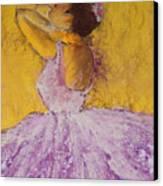 The Ballet Dancer Canvas Print by David Patterson