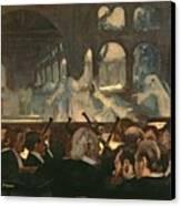 The Ballet Scene From Meyerbeer's Opera Robert Le Diable Canvas Print by Edgar Degas