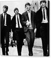 The Beatles Canvas Print by Granger