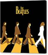 The Beatles No.19 Canvas Print by Caio Caldas