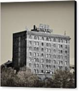 The Bethlehem Hotel Canvas Print by Bill Cannon
