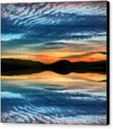 The Brush Strokes Of Evening Canvas Print by Tara Turner
