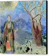The Buddha Canvas Print by Odilon Redon