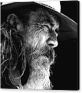 The Bushman Canvas Print by Avalon Fine Art Photography