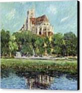 The Cathedral At Auxerre Canvas Print by Gustave Loiseau