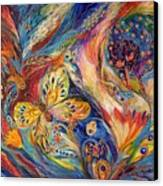 The Chagall Dreams Canvas Print by Elena Kotliarker