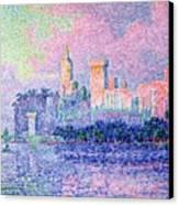 The Chateau Des Papes Canvas Print by Paul Signac