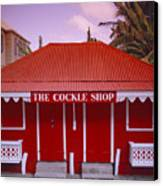 The Cockle Shop Canvas Print by Shaun Higson