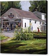 The Country Store Canvas Print by Nancy Griswold