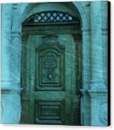 The Door To The Secret Canvas Print by Susanne Van Hulst