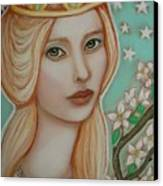 The Empress Canvas Print by Tammy Mae Moon