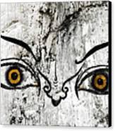 The Eyes Of Guru Rimpoche  Canvas Print by Fabrizio Troiani