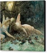 The Fairies  Canvas Print by Gustave Dore