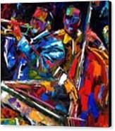 The First Set Canvas Print by Debra Hurd