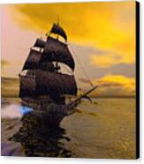 The Flying Dutchman Canvas Print by Corey Ford