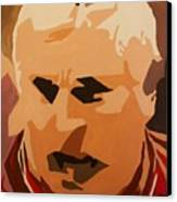 The General- Bobby Knight Canvas Print by Steven Dopka