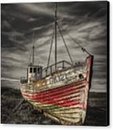 The Ghost Ship Canvas Print by Evelina Kremsdorf