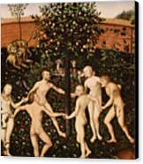 The Golden Age Canvas Print by Lucas Cranach
