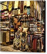 The Grand Bazaar In Istanbul Turkey Canvas Print by David Smith