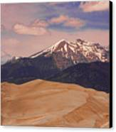 The Great Sand Dunes And Sangre De Cristo Mountains Canvas Print by James BO  Insogna