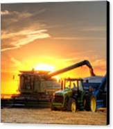 The Harvest Canvas Print by Thomas Zimmerman